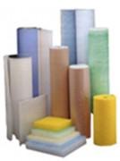 Toile filtrante fibre verre - Efficacité : G3 ou 95% sur pigments de peinture