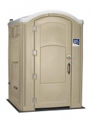 Toilette autonome pour PMR - Équipé de lave-mains, chasse à recirculation