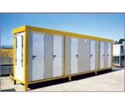 Toilette avec douche pour station balnéaire - Produit disponible sur mesure
