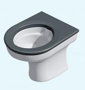 Toilette encastrable anti vandalisme - Toilette encastrable robuste pour environnements sécurisés