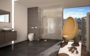 Toilette japonaise - Abattants de toilette multifonction modèle confort - USPA 6035R
