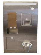 Toilette Mur technique - Matériel Sécurisé - KIT