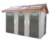 Toilette pour handicapé - Cabine PMR à usage pour tous - Local technique - Cabine 2 urinoirs