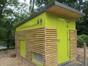 Toilette publique écologique - Fréquentation : grande à très grande