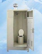 Toilettes biologiques mobiles - Construction métallique