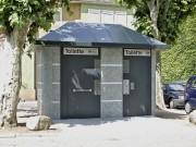 Toilettes en Béton Publique Personnalisés - Toilettes Heppenheim (Allemagne)