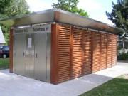Toilettes exterieur Personnalisés Parc