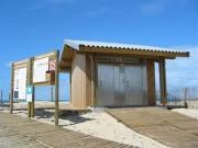 Toilettes extérieurs Personnalisés démontables - Toilettes Lacanau-dept 33