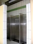 Toilettes interieur double 1à 3 urinoirs