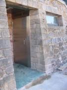 Toilettes intérieur simple plus urinoir en inox