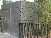 Toilettes publique architecturales Personnalisés - Toilettes Vaulx en velin-dept 69
