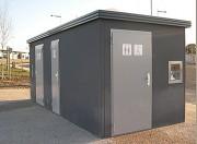 Toilettes publiques automatiques