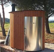 Toilettes sèches préfabriquées - KL2 PMR KAZUBA (Aucun raccordement à l'eau, ou à l'électricité)