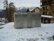 Toilettes triples exterieur Personnalisés - Toilettes Risoul-dept 05
