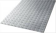 Tole aluminium à damier - Epaisseur de 2/3,2 à 5,5/7