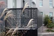 Tôle en acier corten massif - Format classique de 800 x 3000 mm