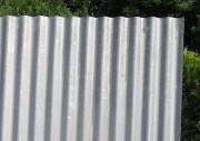 Tôle ondulée galvanisée - Longueur : de 2000 à 4000 mm