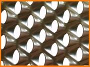 Tôle perforée de filtration industrielle