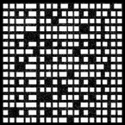 Tôle perforée décorative 2000 x 4000 mm - Découpe de formes abstraites