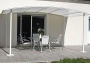 Tonnelle de terrasse modulaire - Abri pour terrasse en plusieurs modèles – Fabrication sur mesure disponible
