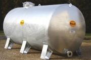 Tonnes galvanisées - Contenance (L) : 500 à 8000