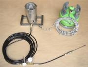 Torchère GNV pour Véhicules à energie gas - Dimensions : 350 X 180 X 330 mm - Torchère Gnv
