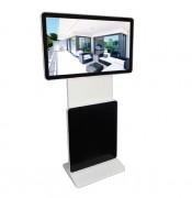 Totem LCD pivotant - Adaptable à tout type de contenus et de communication