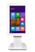 Totem tactile interactif - Mobilier digital qui renforce la communication audiovisuelle dynamique