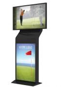 Totem vidéo personnalisable - Totem vidéo - écran 42 pouces