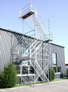 Tour d'accès chantier - Hauteur (m) : 25