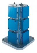 Tour d'étau double serrage à mors usinables en aluminium - Type CarvLock