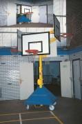 Tour de basket 4 têtes - Tour d'entraînement