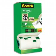 Tour distributrice de 14 rouleaux de Magic 19mm x 3 - Scotch
