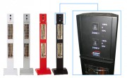 Tour mobile intégrant 2 radiateurs - Puissance de 3 KW
