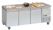 Tour pâtissier réfrigéré dessus granit - Capacité : 306 - 360 - 480 L - Froid positif : 0° +8°C - Dessus Granit
