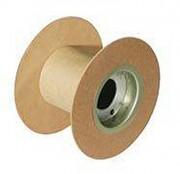 Touret en carton - Modèles de bobines : 100 % carton - Carton et fibre de bois - Carton et contreplaqué