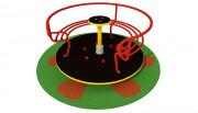 Tourniquet en acier pour enfants - Dimensions (Diamètre x  H) cm : 110 x 63