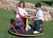 Tourniquet pour enfants 3 places - Dimensions (Diamètre x  H) cm : 110 x 63