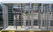 Tourniquets modèle double pour accès vélo - Tourniquets électromécaniques