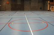 Traçage salle de sport - Tracés des lignes de différents terrains de sports
