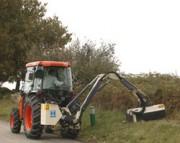 Tracteur compact diesel polyvalent