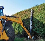 Tracteur coupe bordure - Capacité maxi de coupe (mm) : 20