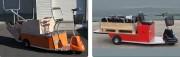 Tracteur électrique 2 moteurs 4000 Kg - Capacité de traction : 4000 Kg