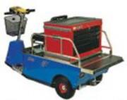 Tracteur électrique de maintenance - Charge totale : 300 kg maximum