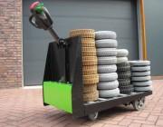 Tracteur électrique de manutention - Capacité (kg)  : 1000