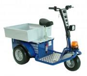 Tracteur électrique de manutention et de remorquage - Triporteur électrique autoporté