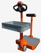Tracteur électrique embarqué - Charge maxi tractable : 1500 kg