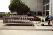 Tracteur pousseur caddies - Capacité 1500 Kg