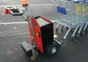 Tracteur pousseur chariots - Capacité 1500 kg