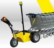 Tracteur pousseur chariots 900 Watts - Moteur électrique : 24v 900w S1 (durée d'utilisation sans limite)
